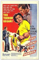 5 Steps to Danger 1956 DVD - Ruth Roman / Sterling Hayden